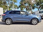 USED 2019 FORD EDGE TITANIUM WITH PANORAMIC VISTA ROOF in LAKE WORTH, FLORIDA (Photo 3)