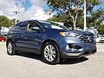 USED 2019 FORD EDGE TITANIUM WITH PANORAMIC VISTA ROOF in LAKE WORTH, FLORIDA (Photo 4)