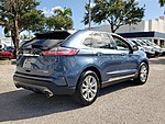 USED 2019 FORD EDGE TITANIUM WITH PANORAMIC VISTA ROOF in LAKE WORTH, FLORIDA (Photo 6)