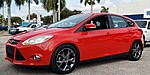 USED 2014 FORD FOCUS SE HATCHBACK WITH LEATHER in LAKE WORTH, FLORIDA