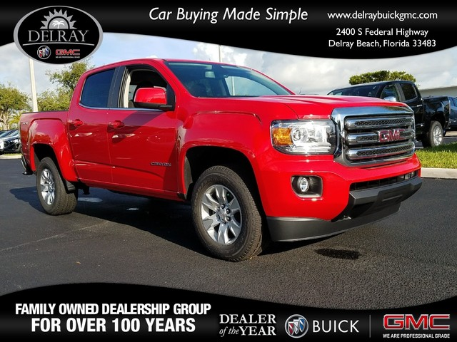 2018 GMC CANYON 4WD SLE  Daytime Running LampsAir bags dual-stage frontal and front-seat-mounted