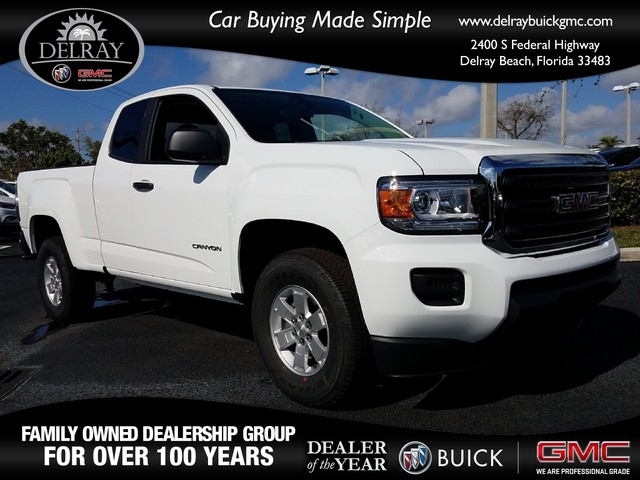 2018 GMC CANYON 2WD  Daytime Running LampsAir bags dual-stage frontal and front-seat-mounted si