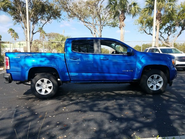 2018 GMC CANYON 4WD SLE  Daytime Running LampsAir bags dual-stage frontal and front-seat-mounte