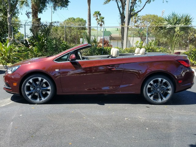 2018 BUICK CASCADA PREMIUM  StabiliTrak stability control system includes Traction ControlAuto