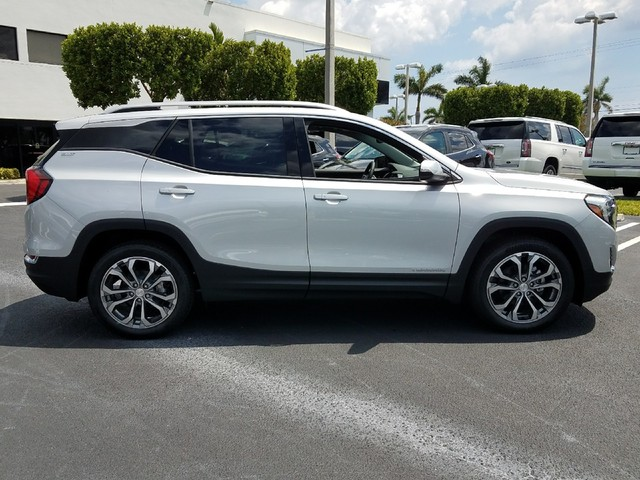 2018 GMC TERRAIN SLT  StabiliTrak stability control system with Traction ControlHill Descent Con