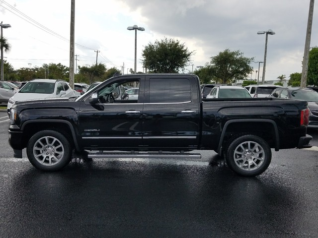 2018 GMC SIERRA 1500 DENALI  StabiliTrak stability control system with Proactive Roll Avoidance a