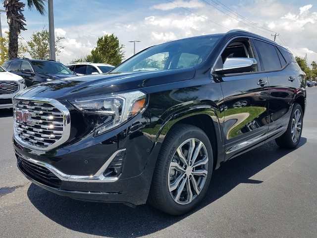 2018 GMC TERRAIN DENALI  StabiliTrak stability control system with Traction ControlHill Descent