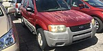 USED 2001 FORD ESCAPE XLS in WEST PALM BEACH, FLORIDA