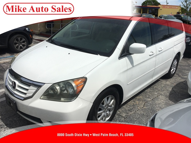 2009 HONDA ODYSSEY EX-L  Child Safety Rear Door LocksDual-Stage Dual-Threshold Front AirbagsFro
