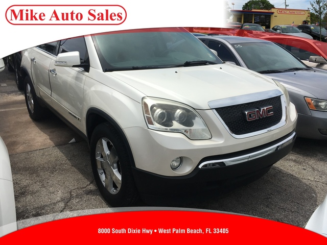 2007 GMC ACADIA SLT-2  Driver  Front Passenger Frontal AirbagsFront Seat-Mounted Side-Impact Ai