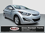 USED 2014 HYUNDAI ELANTRA 4DR SDN AUTO SE in STONE MOUNTAIN, GEORGIA (Photo 1)