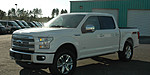 NEW 2015 FORD F-150 4X4 S/C PLATINUM 145 in WAYCROSS, GEORGIA