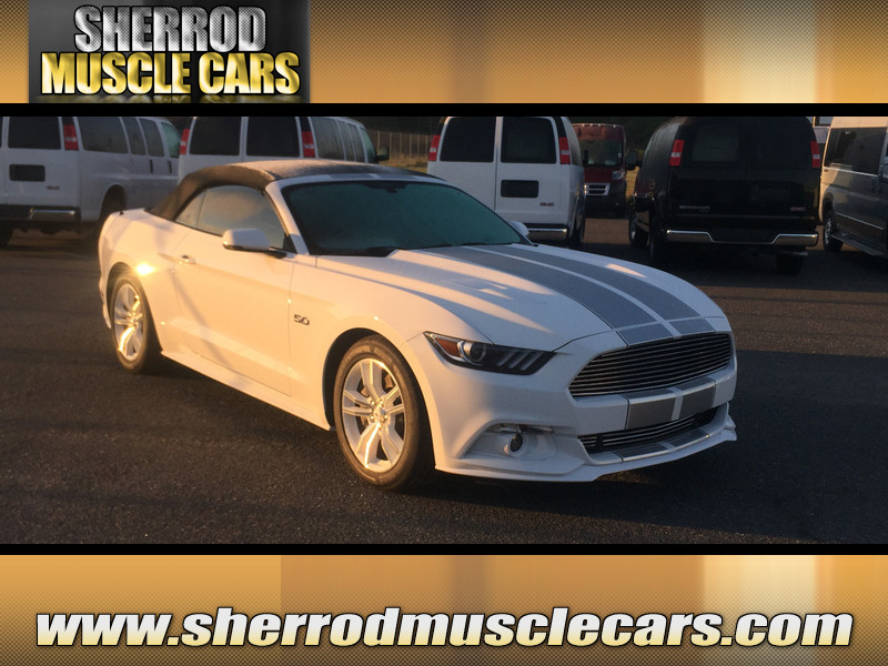 NEW 2016 FORD MUSTANG GT CONVERTIBLE PREMIUM in WAYCROSS, GEORGIA